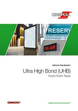 UHB - Ultra jako lepljive trake