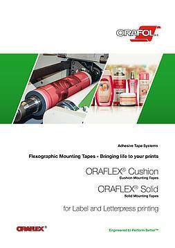 Fleksografske trake za montiranje za štampu nalepnica i visoku štampu